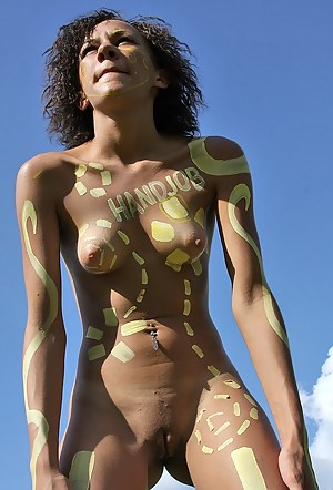 Sexy Teen Body Paint Porn Pictures